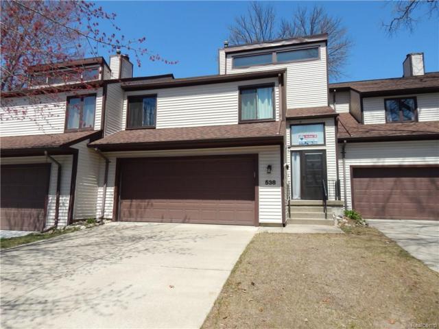 538 Oakbrook Circle, Flushing, MI 48433 (#218033545) :: Duneske Real Estate Advisors