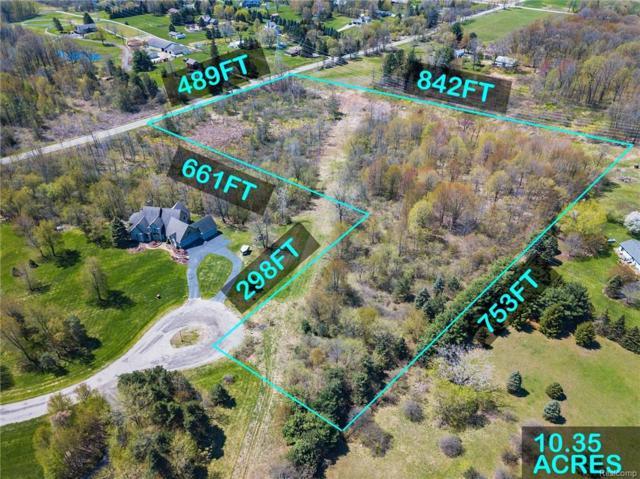 8140 Pine Ridge Court, Salem Twp, MI 48168 (#218034856) :: RE/MAX Classic