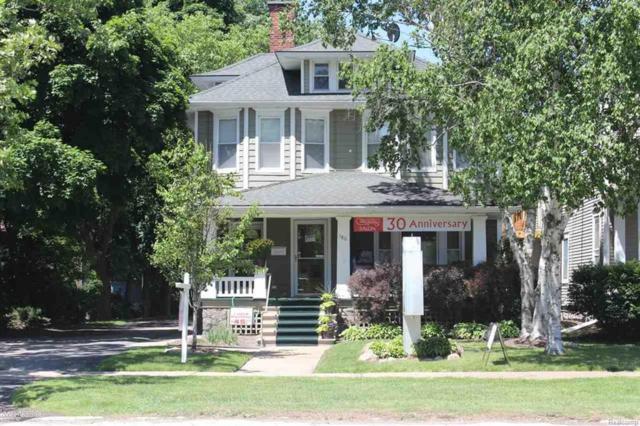 180 S Main, Romeo Vlg, MI 48065 (#58031346000) :: Duneske Real Estate Advisors
