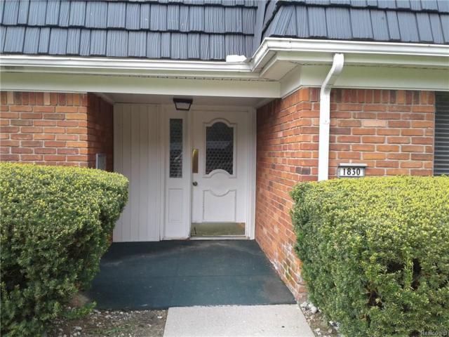 1830 Colonial Village Way #61, Waterford Twp, MI 48328 (#218041672) :: Duneske Real Estate Advisors
