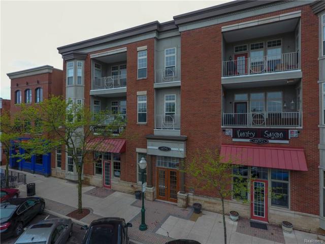 855 Penniman#203 Avenue, Plymouth, MI 48170 (#218042013) :: Duneske Real Estate Advisors