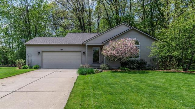 162 Garden Court, Northfield Twp, MI 48189 (MLS #543256780) :: The Toth Team