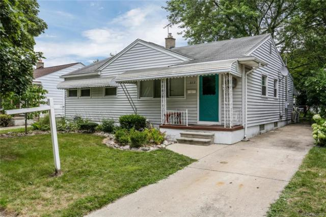 612 N Vermont Avenue, Royal Oak, MI 48067 (#218044369) :: RE/MAX Classic