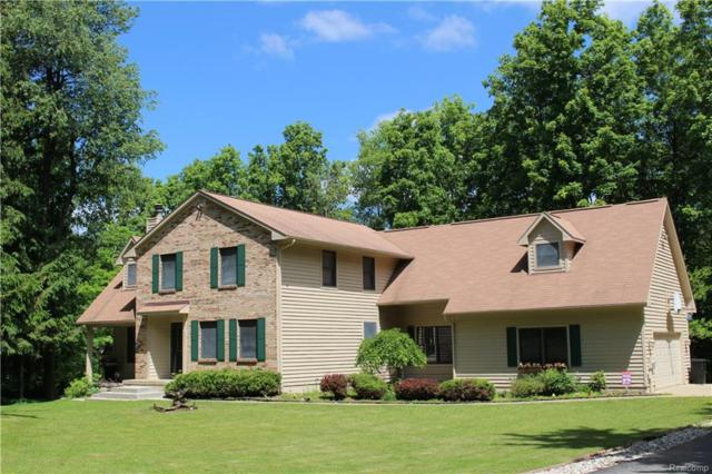 2840 White Pine, Addison Twp, MI 48370 (#218047404) :: Duneske Real Estate Advisors