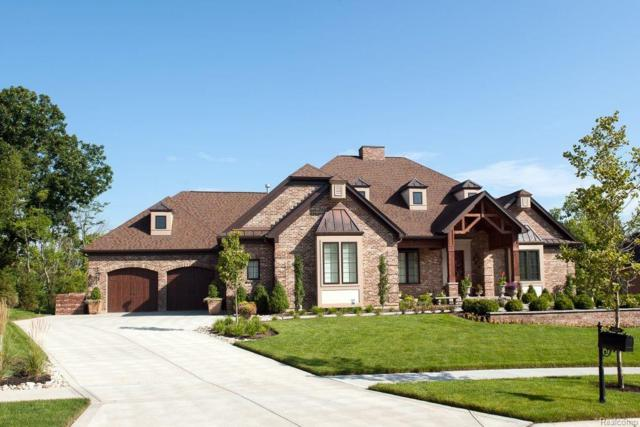 81310 Pine Ridge Court, Salem Twp, MI 48168 (#218047422) :: Duneske Real Estate Advisors