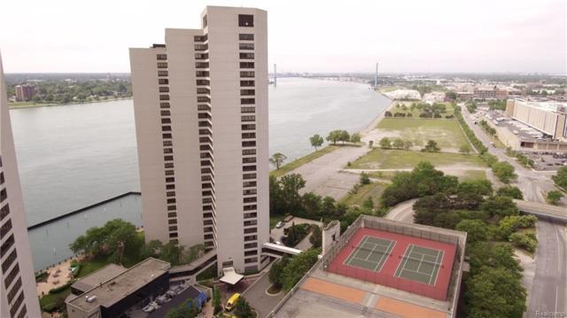 1001 W Jefferson Ave., Unit 6B 6B, Detroit, MI 48226 (#218057994) :: Duneske Real Estate Advisors