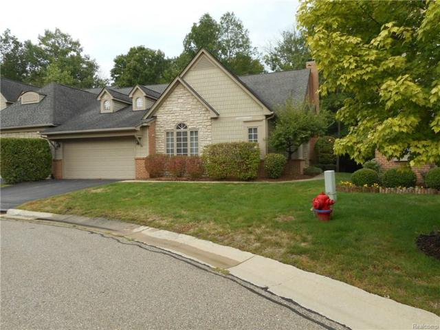7306 Crackling Creek Circle, West Bloomfield Twp, MI 48322 (#218063182) :: RE/MAX Classic