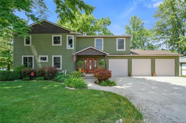 4025 Rich Drive, Waterford Twp, MI 48329 (#218064814) :: RE/MAX Vision