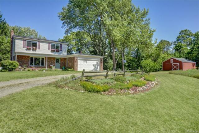 395 Beaumont Road, Highland Twp, MI 48356 (#218064923) :: The Buckley Jolley Real Estate Team