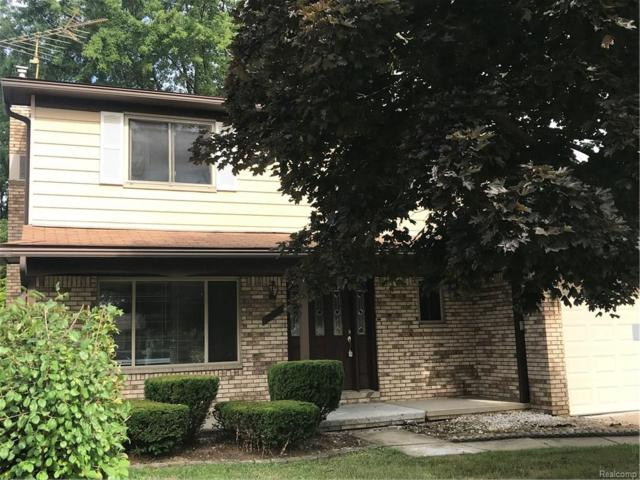 39679 Baker Drive, Sterling Heights, MI 48310 (#218065611) :: RE/MAX Classic