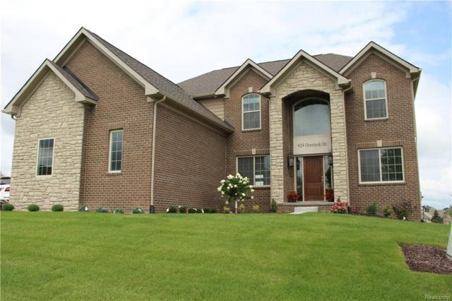 424 Overlook Drive, Oxford Twp, MI 48371 (#218065972) :: RE/MAX Classic