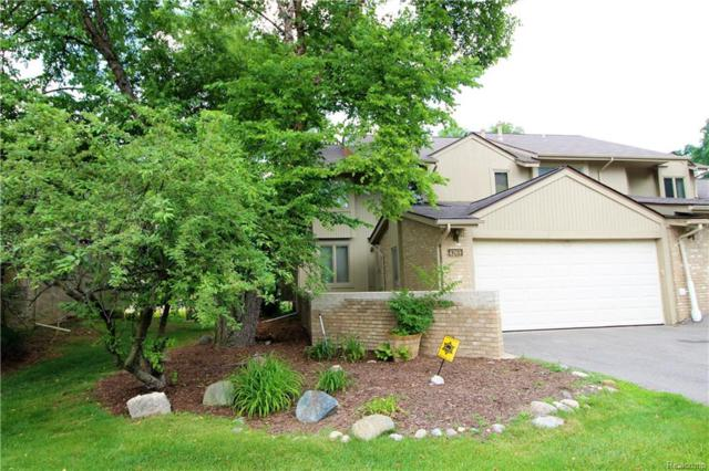 4269 Foxpointe Drive, West Bloomfield Twp, MI 48323 (MLS #218070486) :: The Toth Team