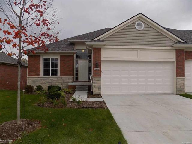 49106 Pond Place Drive Unit # 90 ( For, Shelby Twp, MI 48315 (#58031355211) :: Keller Williams West Bloomfield