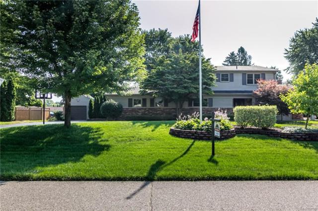 54754 Queens Row, Shelby Twp, MI 48316 (#218072148) :: RE/MAX Classic