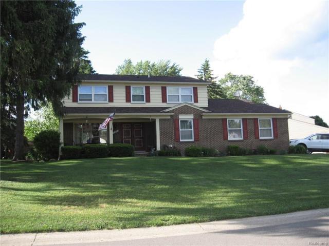 735 Dartmouth Drive, Rochester Hills, MI 48307 (#218072247) :: RE/MAX Classic
