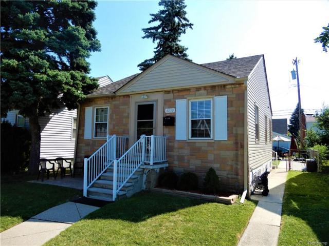 4650 Rosalie Street, Dearborn, MI 48126 (#218073265) :: Duneske Real Estate Advisors