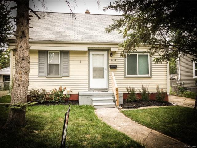 1419 Whitcomb Avenue, Royal Oak, MI 48073 (#218083571) :: Duneske Real Estate Advisors