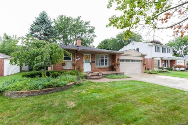 40936 Greenbriar Lane, Plymouth Twp, MI 48170 (MLS #218087695) :: The Toth Team