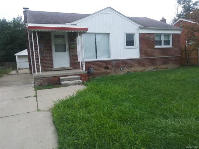 348 Greenwood Street, Inkster, MI 48141 (MLS #218090008) :: The Toth Team