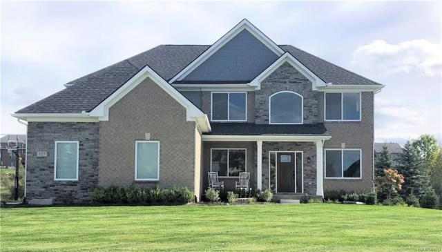 353 Valley View, Oxford Twp, MI 48371 (MLS #218090523) :: The Toth Team