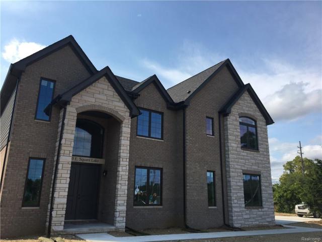 1410 E Square Lake Road, Bloomfield Twp, MI 48304 (#218091360) :: Duneske Real Estate Advisors