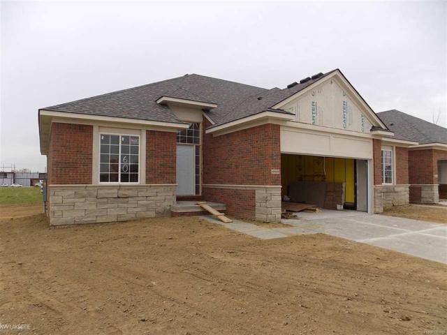 49420 Chapel Hill Unit # 60 Build, Shelby Twp, MI 48315 (#58031361108) :: Keller Williams West Bloomfield