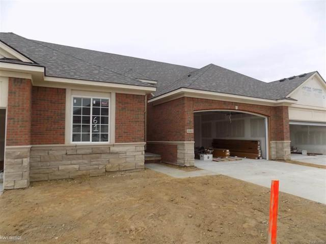 49410 Chapel Hill Unit # 61 Build, Shelby Twp, MI 48315 (#58031361112) :: Keller Williams West Bloomfield