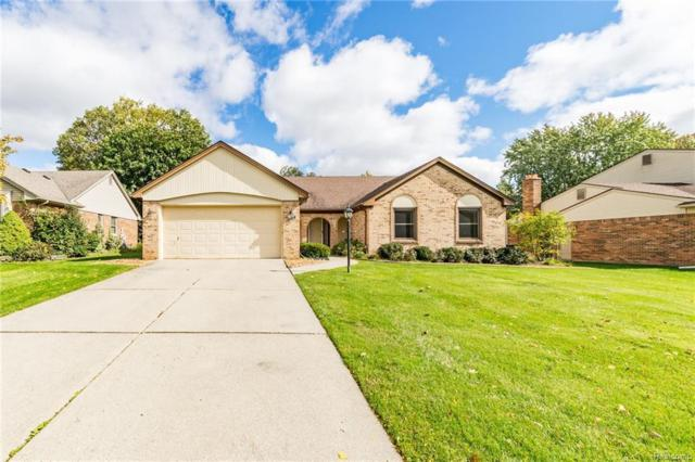 16182 White Haven Drive, Northville Twp, MI 48168 (#218095656) :: RE/MAX Classic