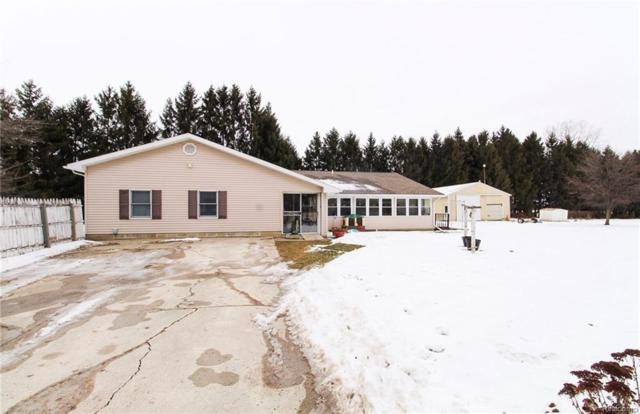 1208 Nichols Road, Clayton Twp, MI 48433 (#218098617) :: The Buckley Jolley Real Estate Team