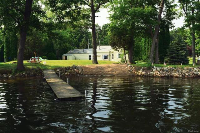 95 Studer Drive, Leoni Twp, MI 49240 (#218100333) :: The Buckley Jolley Real Estate Team