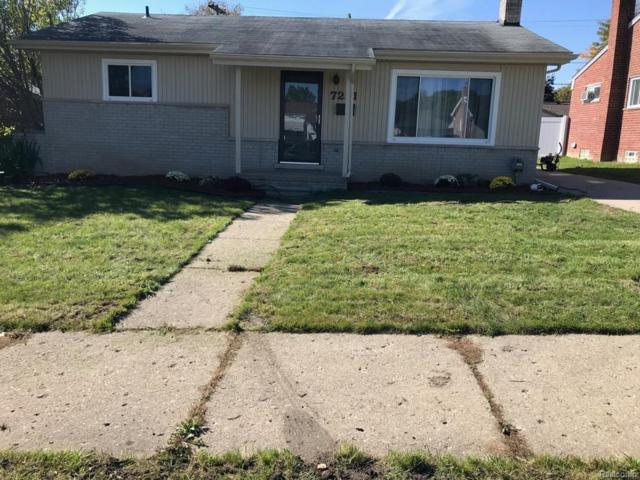 7221 Rosemary Street, Dearborn Heights, MI 48127 (#218102745) :: RE/MAX Classic