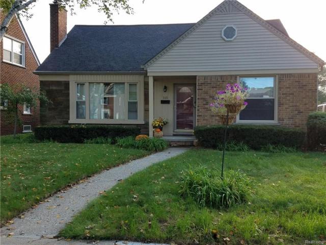 115 Meridan Street, Dearborn, MI 48124 (#218106913) :: RE/MAX Nexus