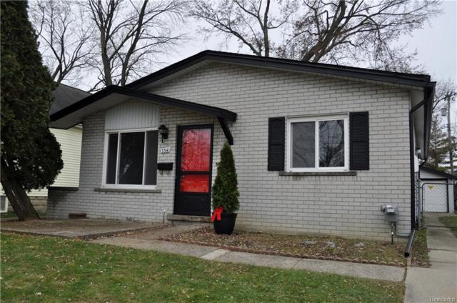 3341 Oakshire Avenue, Berkley, MI 48072 (#218114265) :: RE/MAX Nexus