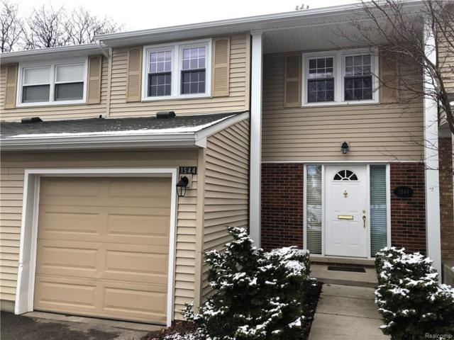 1544 Brentwood Drive, Troy, MI 48098 (#218120431) :: RE/MAX Classic
