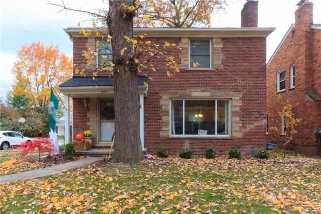 1866 Littlestone, Grosse Pointe Woods, MI 48236 (#219002384) :: RE/MAX Nexus
