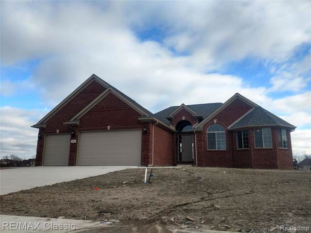 32030 Bondie Drive, Brownstown Twp, MI 48173 (#219008420) :: The Mulvihill Group