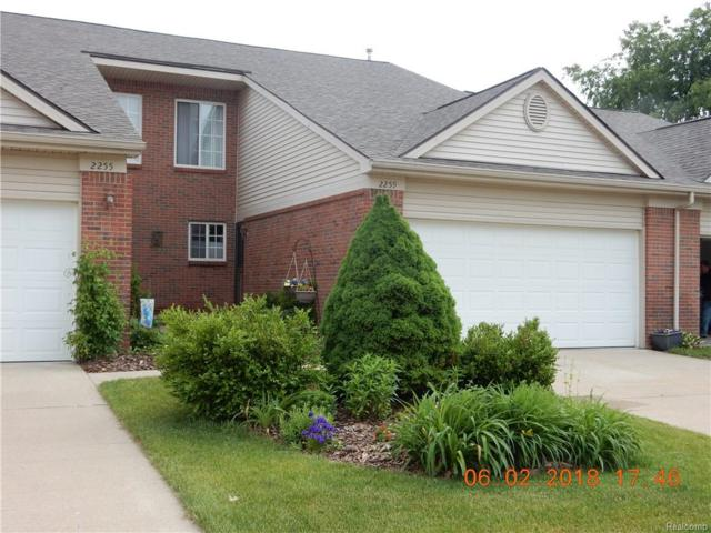 2259 Crystal Crossing Drive #10, Howell, MI 48843 (#219011984) :: The Mulvihill Group