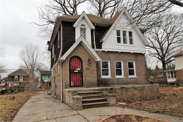 3835 Courville Street, Detroit, MI 48224 (MLS #219015517) :: The Toth Team