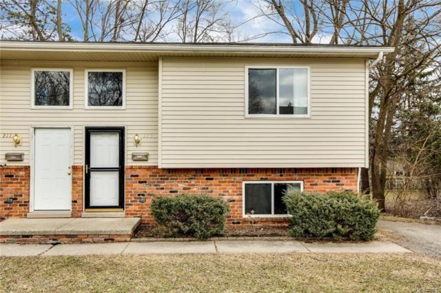 215 Hacker Street, Rochester, MI 48307 (#219017632) :: The Buckley Jolley Real Estate Team