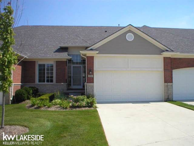 49207 Pond Place Unit #157/Build, Shelby Twp, MI 48315 (MLS #58031372771) :: The Toth Team