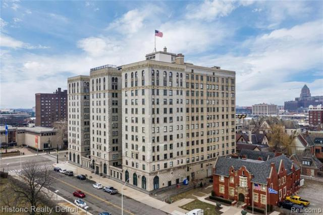15 E Kirby Street #303, Detroit, MI 48202 (#219022028) :: The Buckley Jolley Real Estate Team