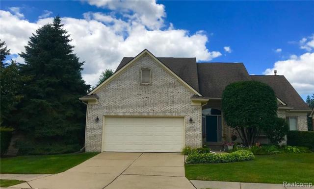 61107 Wedgewood Drive, Washington Twp, MI 48094 (#219022256) :: Keller Williams West Bloomfield