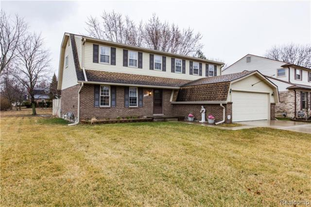45413 Embassy Court, Canton Twp, MI 48187 (#219027388) :: RE/MAX Classic