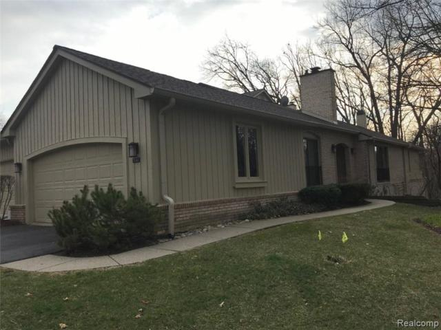 1141 Timberview Trail #110, Bloomfield Twp, MI 48304 (#219029391) :: The Buckley Jolley Real Estate Team