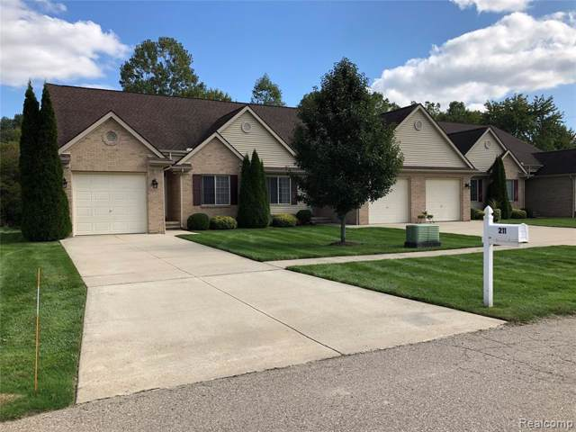 201 Jonathon, Almont Vlg, MI 48003 (#219033508) :: The Buckley Jolley Real Estate Team