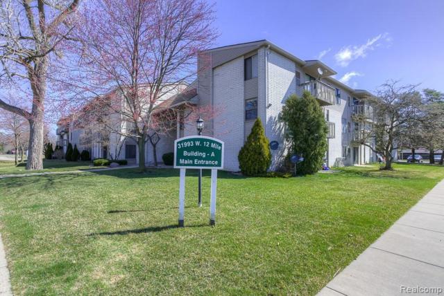 31993 W 12 MILE Road #303, Farmington Hills, MI 48334 (#219034063) :: The Buckley Jolley Real Estate Team