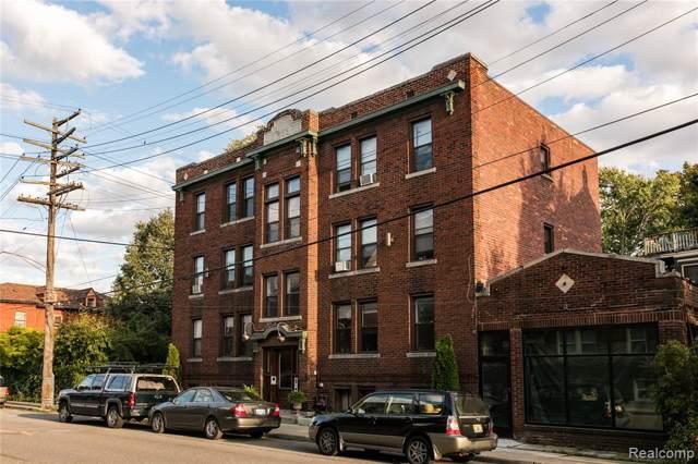 1535 W Canfield Street, Detroit, MI 48208 (MLS #219035071) :: The Toth Team
