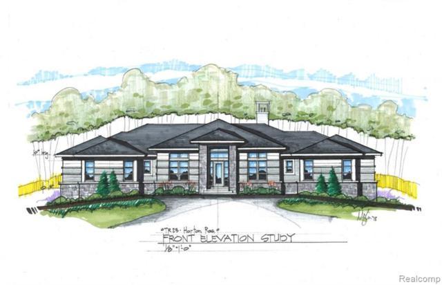 0000 Turtle Ridge Drive, Bloomfield Twp, MI 48302 (MLS #219036467) :: The Toth Team