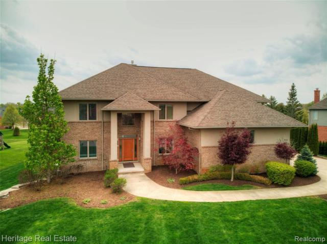 4176 Oak Tree Circle, Oakland Twp, MI 48306 (#219042228) :: The Alex Nugent Team | Real Estate One