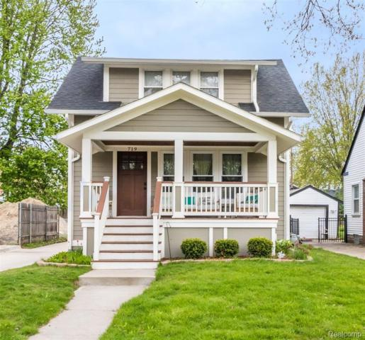 719 Forest Avenue, Royal Oak, MI 48067 (#219044100) :: RE/MAX Classic